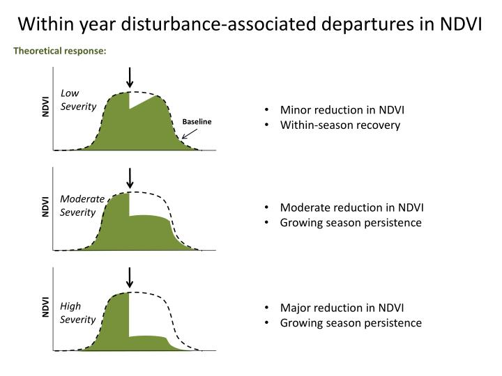 Within year disturbance-associated