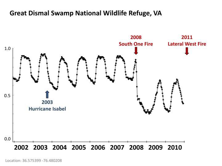 Great Dismal Swamp National Wildlife Refuge, VA