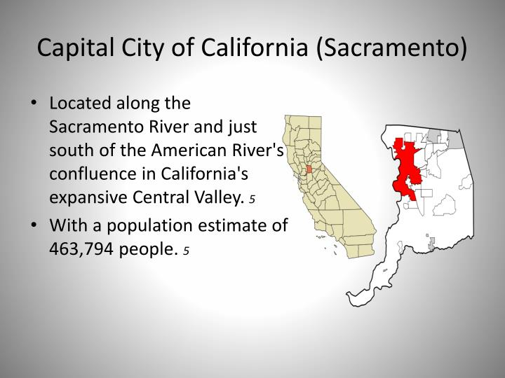 Capital City of California (Sacramento)