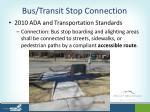 bus transit stop connection2