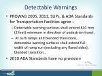 detectable warnings8