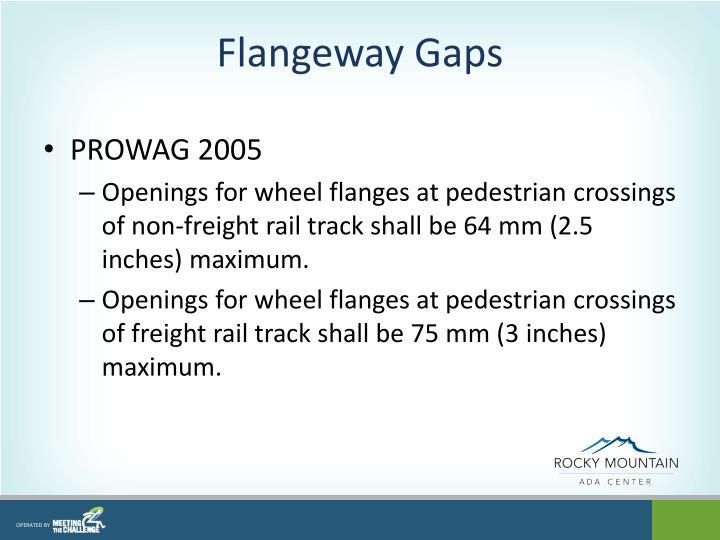 Flangeway