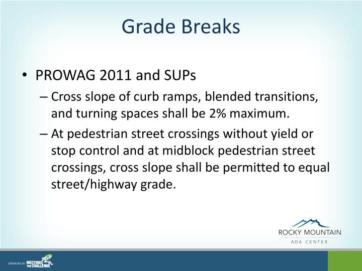 Grade Breaks