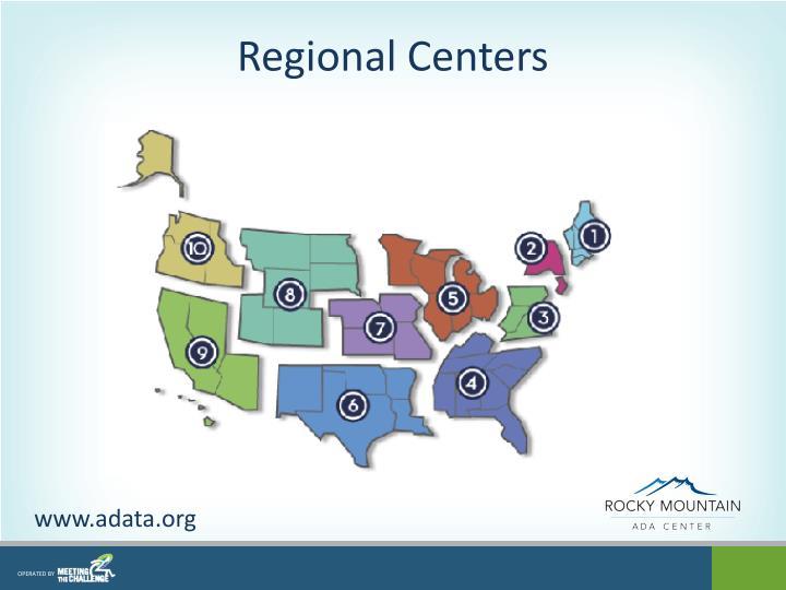 Regional Centers