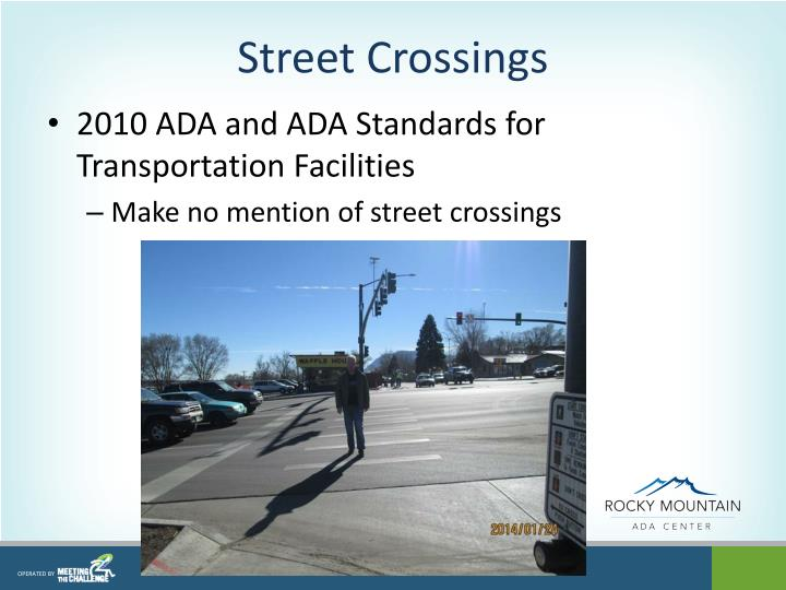 Street Crossings