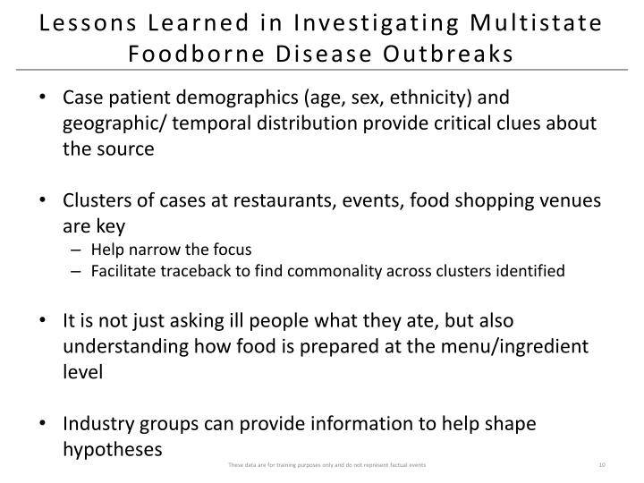 Lessons Learned in Investigating Multistate