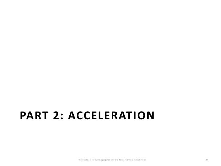 Part 2: Acceleration