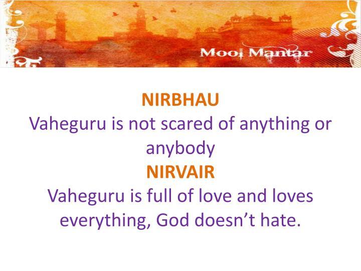 NIRBHAU