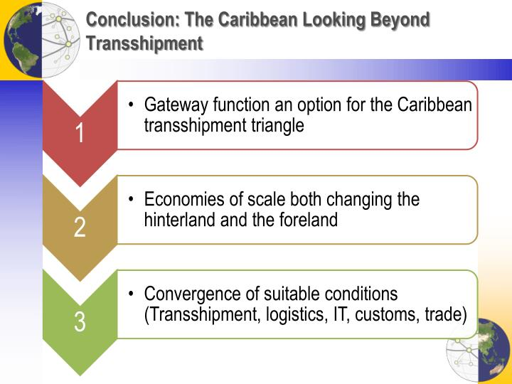 Conclusion: The Caribbean Looking Beyond Transshipment