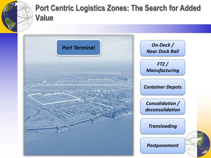 Port Centric Logistics Zones: The Search for Added Value