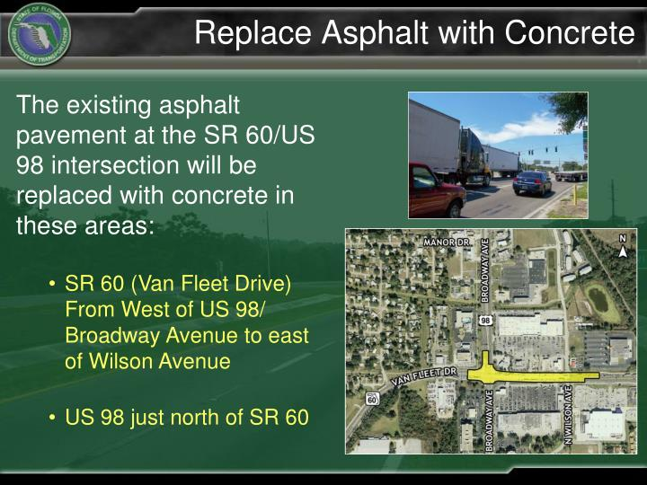 Replace Asphalt