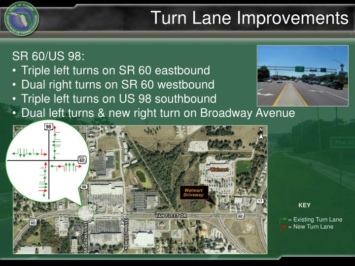 Turn Lane Improvements