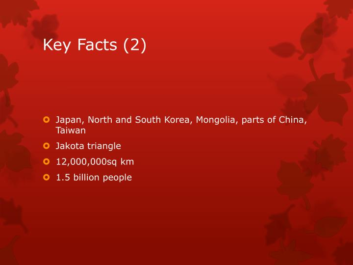 Key Facts (2)
