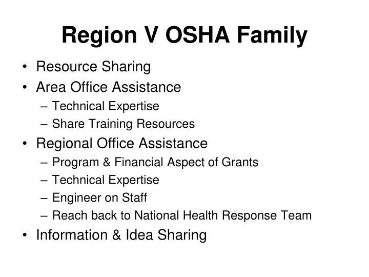 Region V OSHA Family