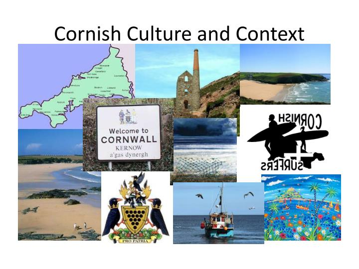 Cornish culture and context