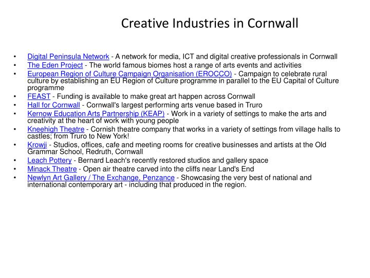 Creative industries in cornwall1