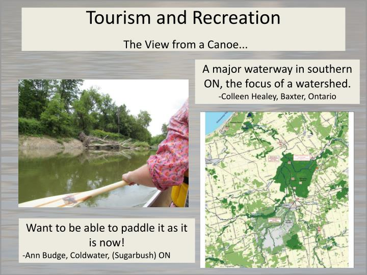 Tourism and Recreation