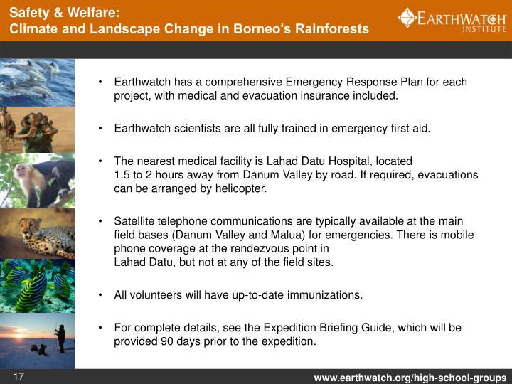 Safety & Welfare: