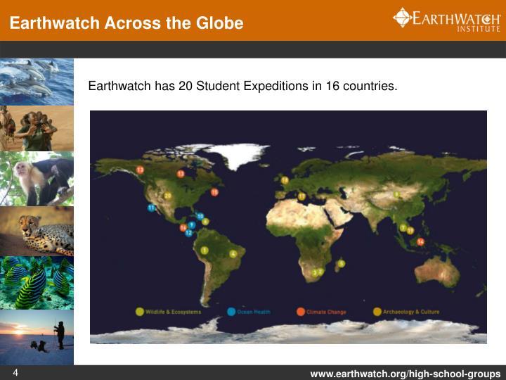 Earthwatch Across the Globe