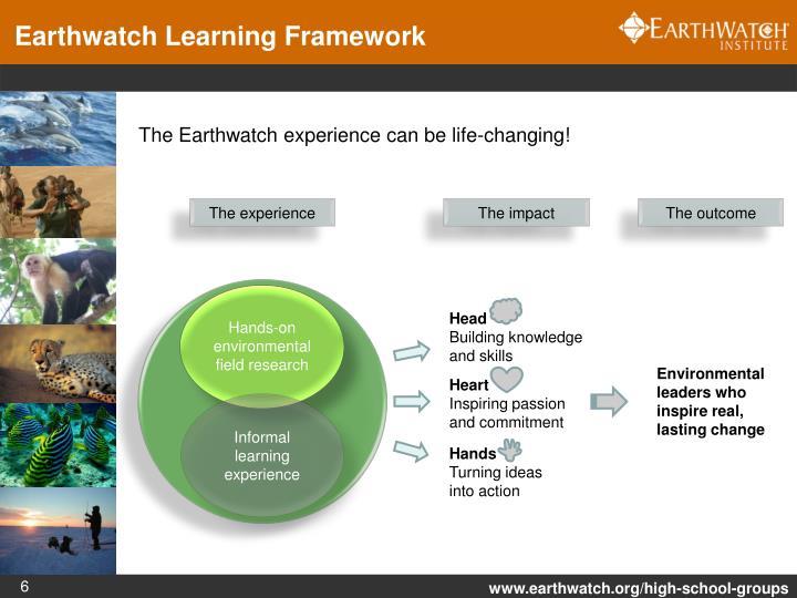 Earthwatch Learning Framework