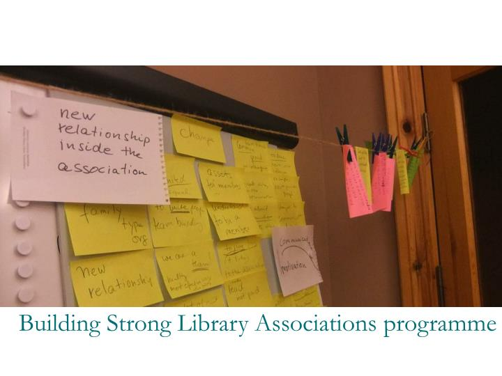 Building Strong Library Associations programme