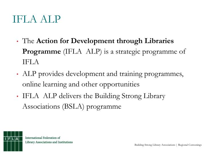 IFLA ALP