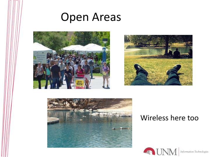Open Areas
