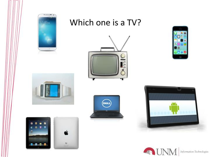 Which one is a TV?