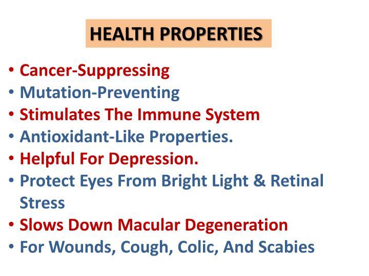 HEALTH PROPERTIES