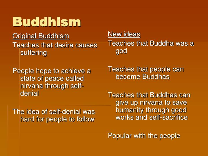 Original Buddhism