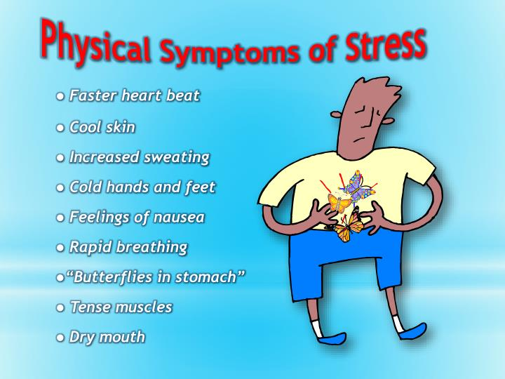 Physical Symptoms of Stress