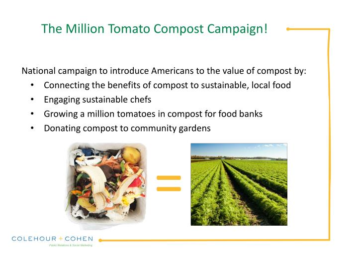 The million tomato compost campaign