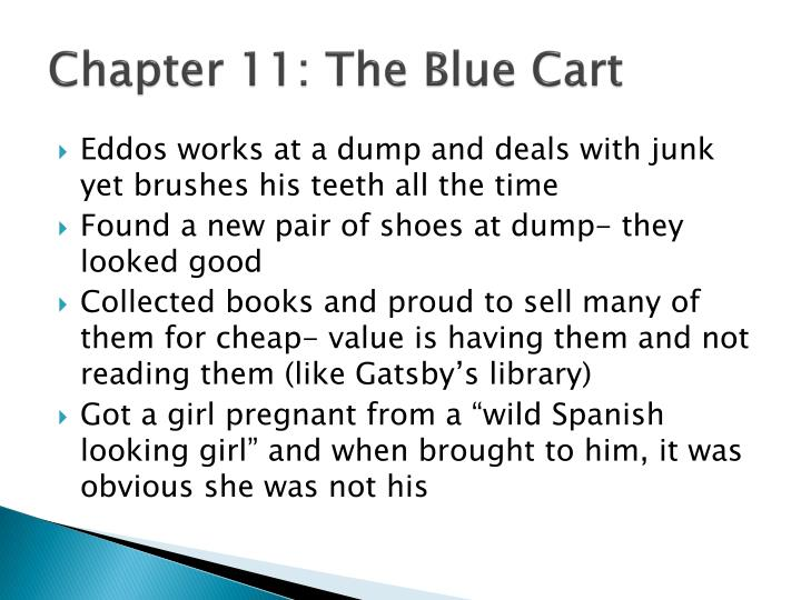 Chapter 11: The Blue Cart