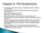 chapter 8 the pyrotechnist