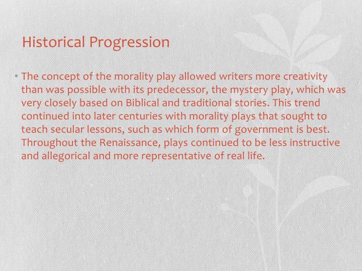 Historical Progression