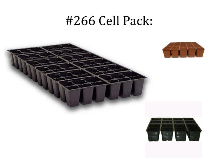 #266 Cell Pack: