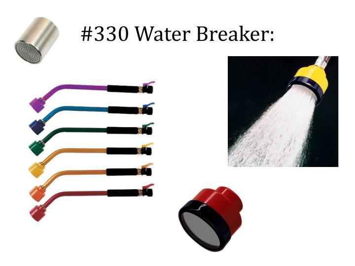 #330 Water Breaker: