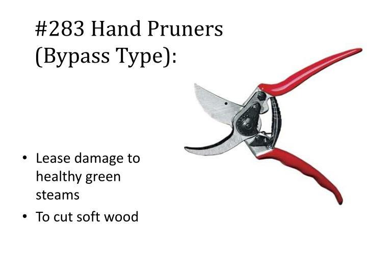 #283 Hand Pruners