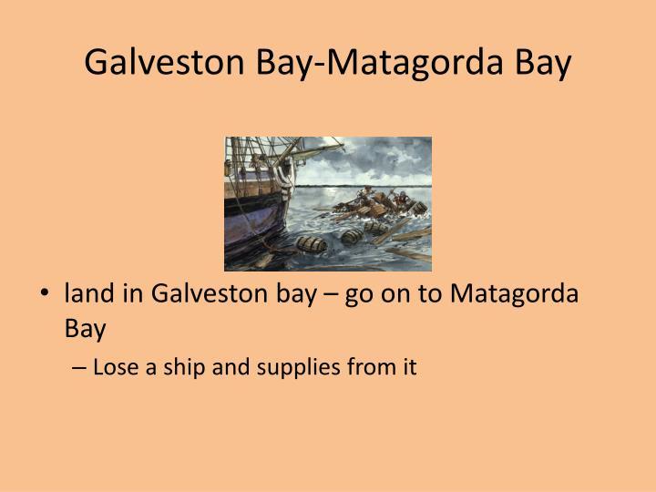 Galveston Bay-Matagorda Bay