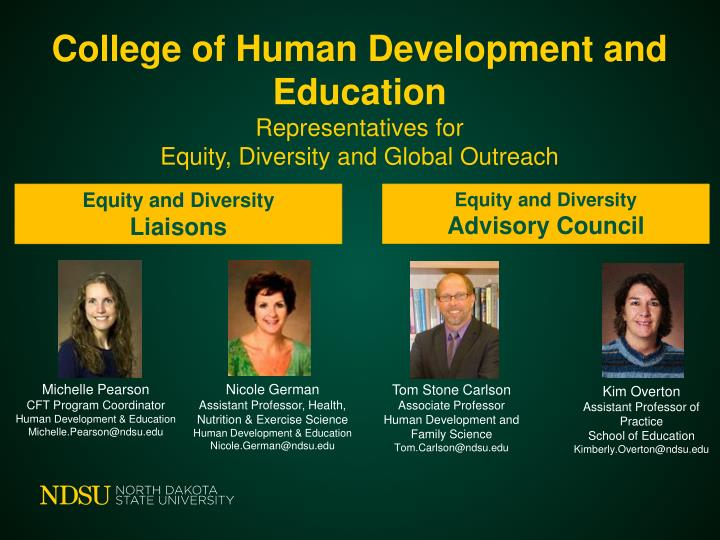 College of Human Development and Education