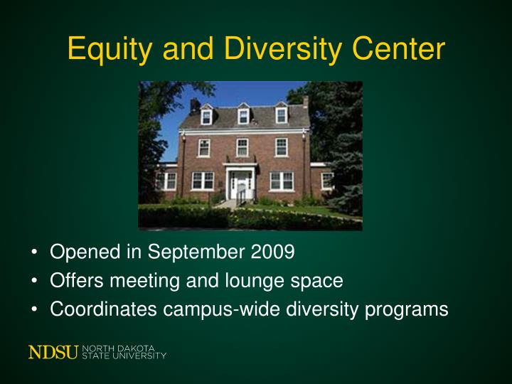 Equity and Diversity Center