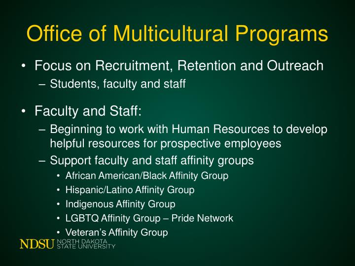 Office of Multicultural Programs