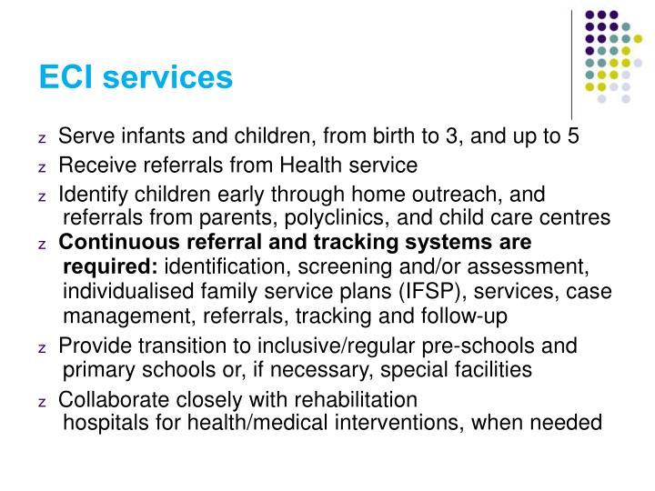 ECI services