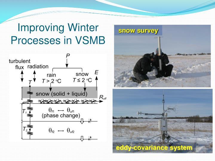 Improving Winter Processes in VSMB