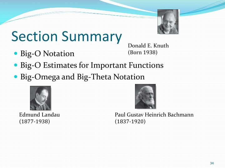 Section Summary