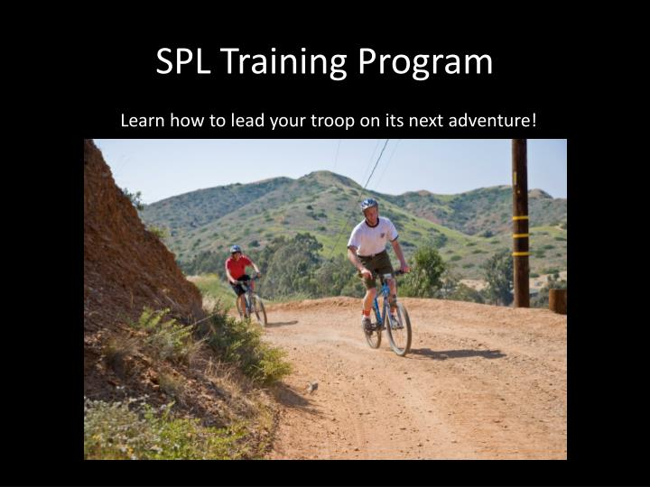 SPL Training Program