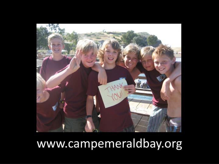 www.campemeraldbay.org