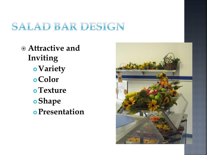 Salad Bar Design