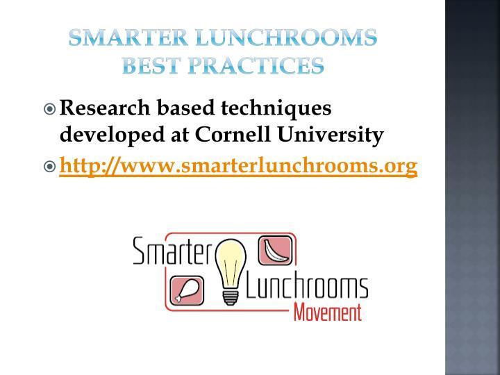 Smarter Lunchrooms