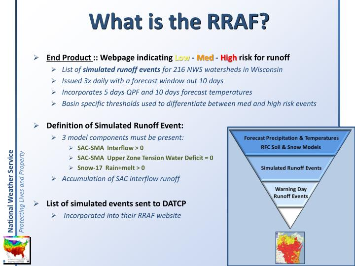 What is the RRAF?